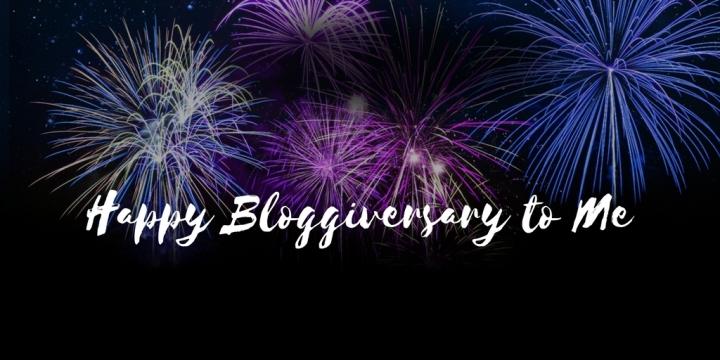 Happy Bloggiversary toMe