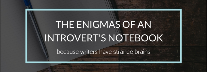 The Enigmas of an Introvert's Notebook
