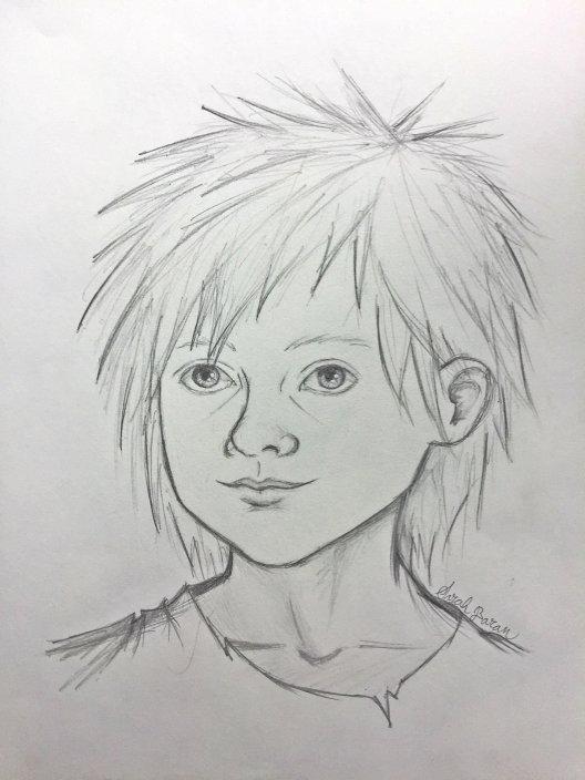 Lotch face sketch