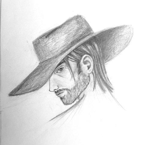 Sley face sketch