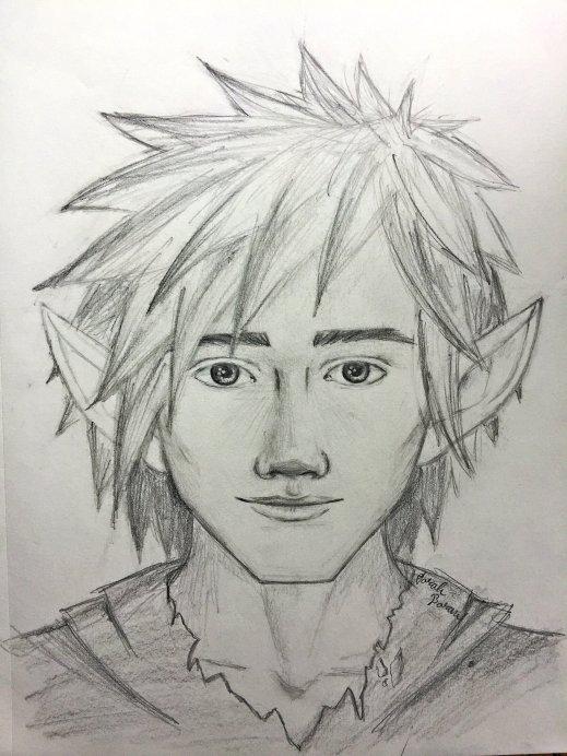 young Emolas sketch