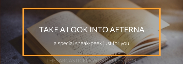 Take a Look into Aeterna // a special sneak peek just for you