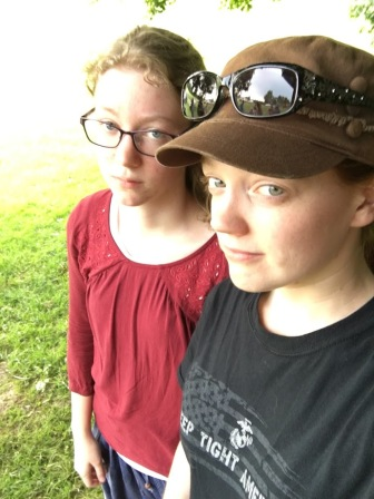 We were practicing our INTJ death glares...