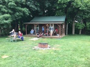 Hope & Co.'s cozy cabin.
